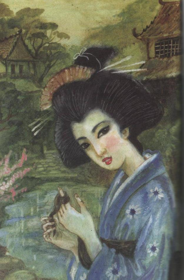 Волшебный оби: сказка Лидии Чарской