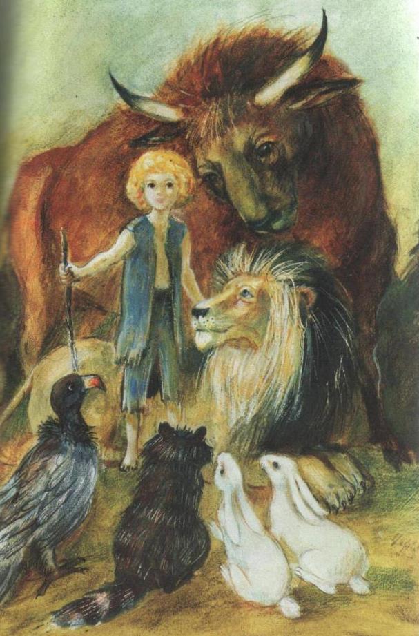 Герцог над зверями: сказка Лидии Чарской