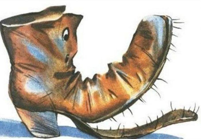 Прожорливый башмак: сказка А.Н.Толстого