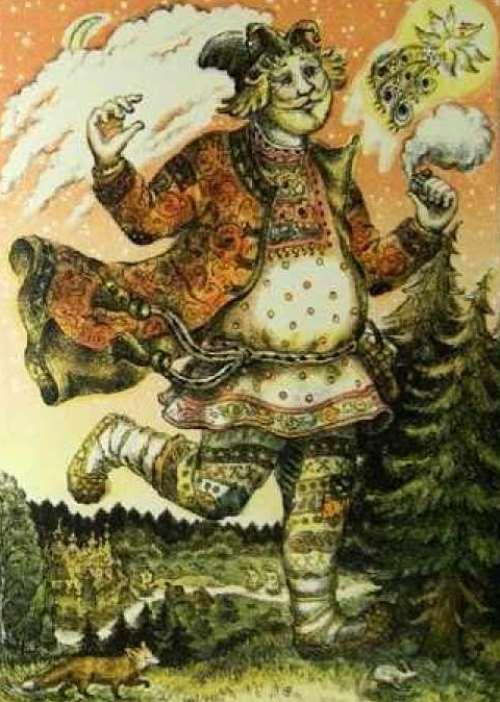 Великан: сказка А.Н.Толстого
