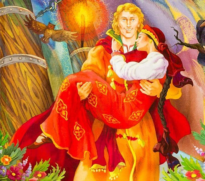 Иван-царевич и Алая-Алица: cказка А.Н.Толстого