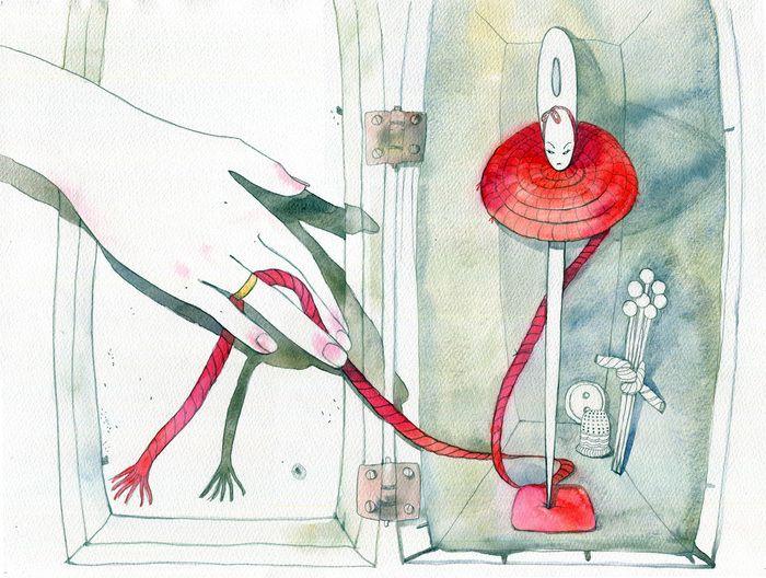 Штопальная игла сказка Г.Х.Андерсена