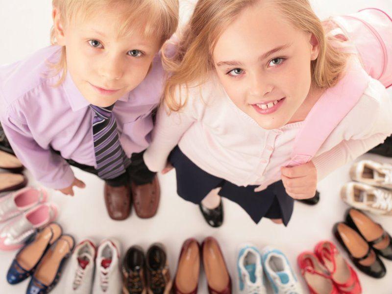 Профилактическая сменная обувь для школы