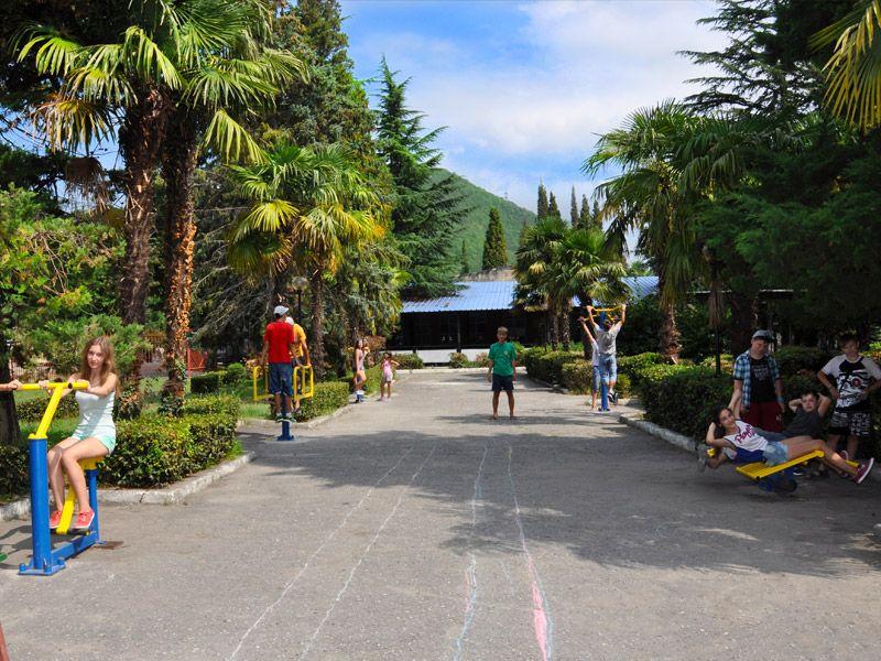 Детский санаторно и спортивно-оздоровительный лагерь