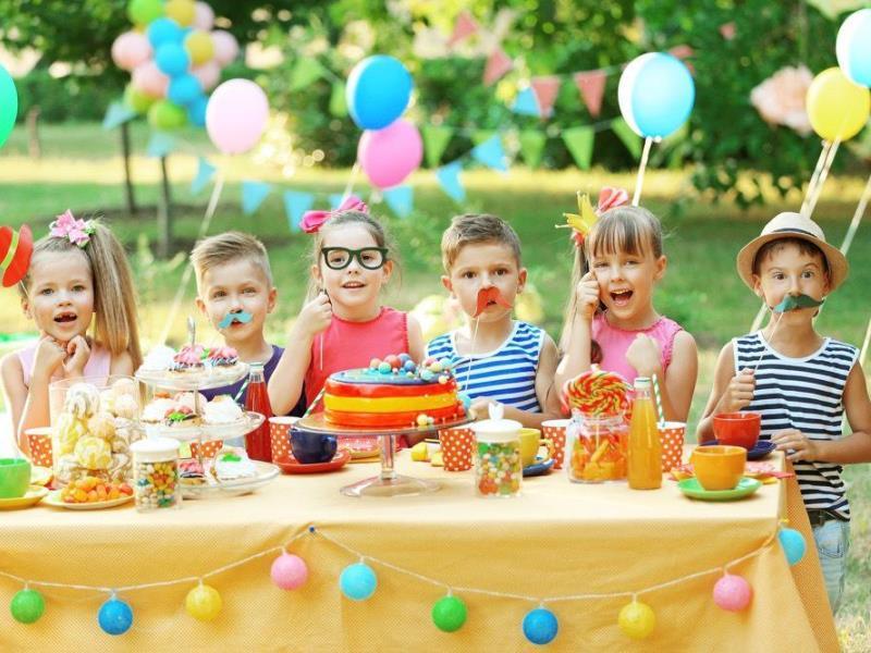 Организуй ребенку праздник