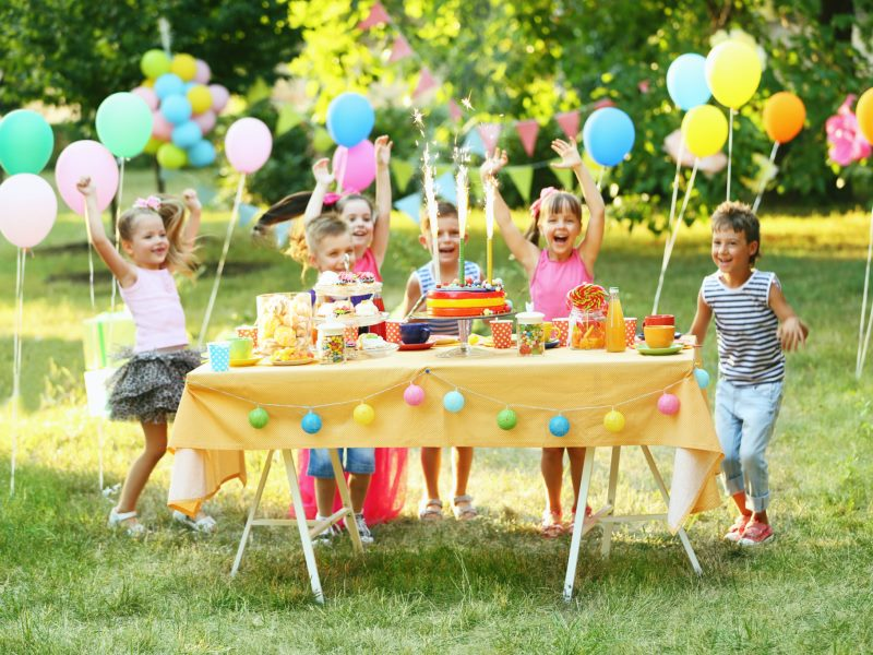 Как устроить невероятное праздничное приключение на день рождения ребенка