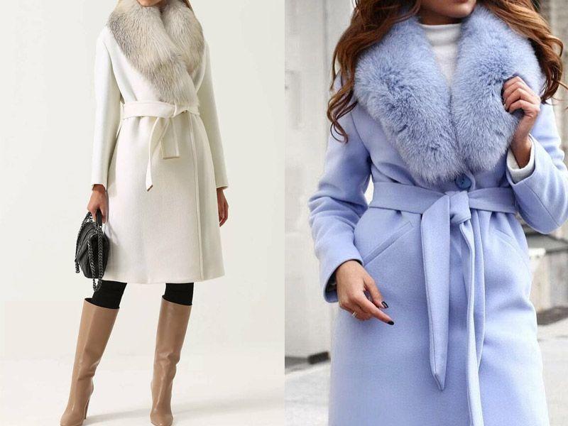 Элегантные зимние пальто с мехом – сочетание безупречного качества и стиля