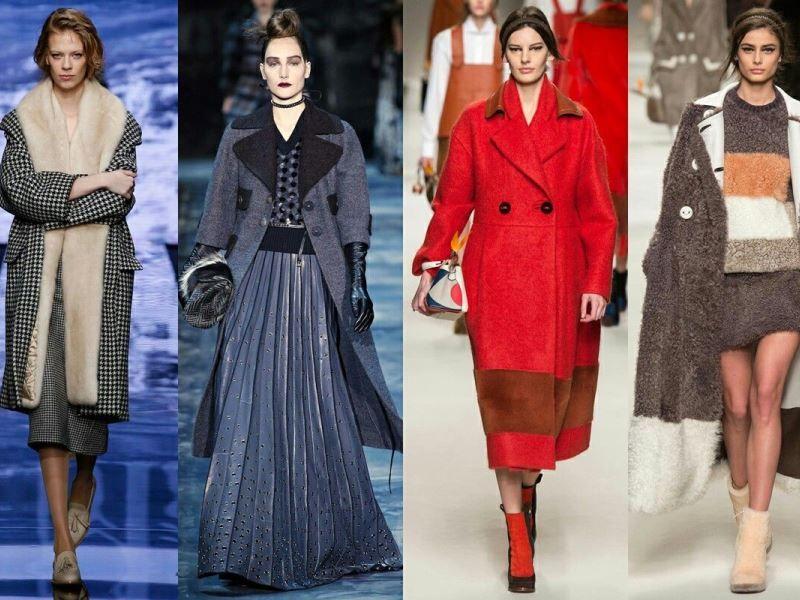 Женские пальто 2017 тенденции и ультрамодные тренды