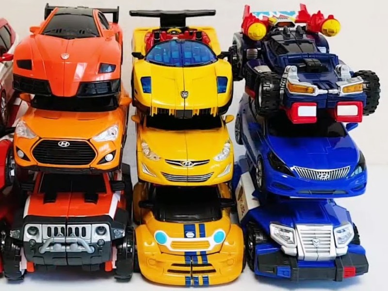 Отличия обычных игрушек машинок от машинок трансформеров