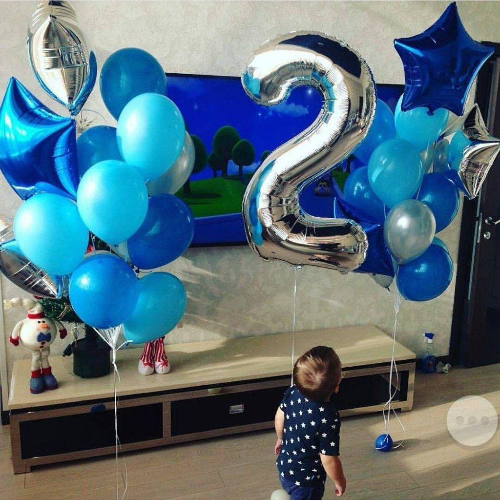 Поздравления в День рождения ребенку с шариками