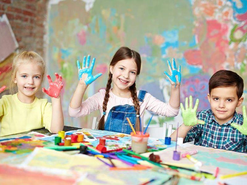Польза рисования для детей