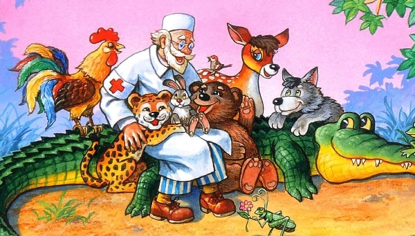 Айболит: стихотворение Корнея Чуковского