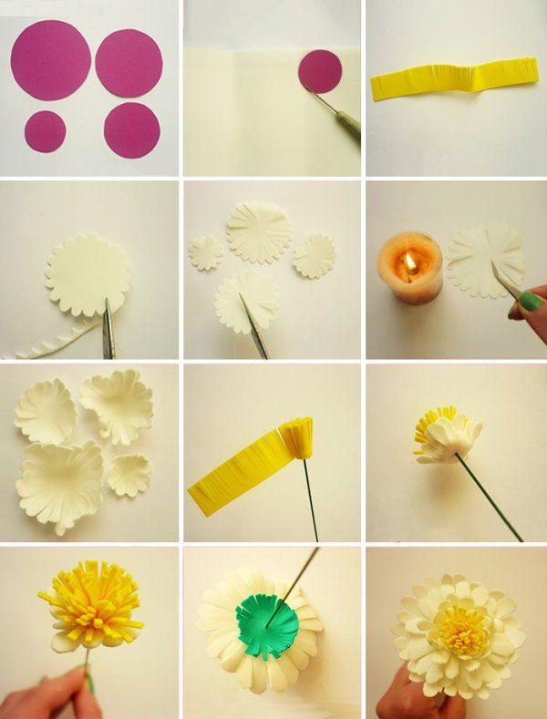 Как создать цветочки самому