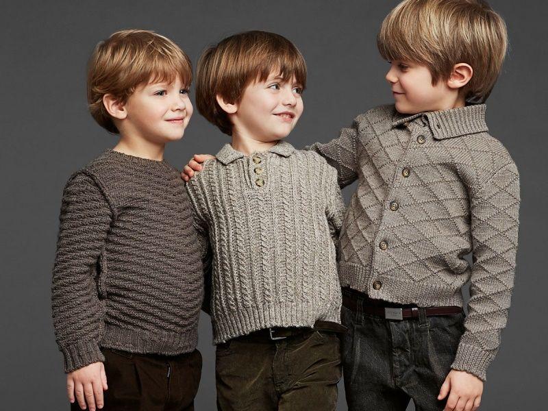Выбираем свитер для ребенка: ткань, размер, фасон