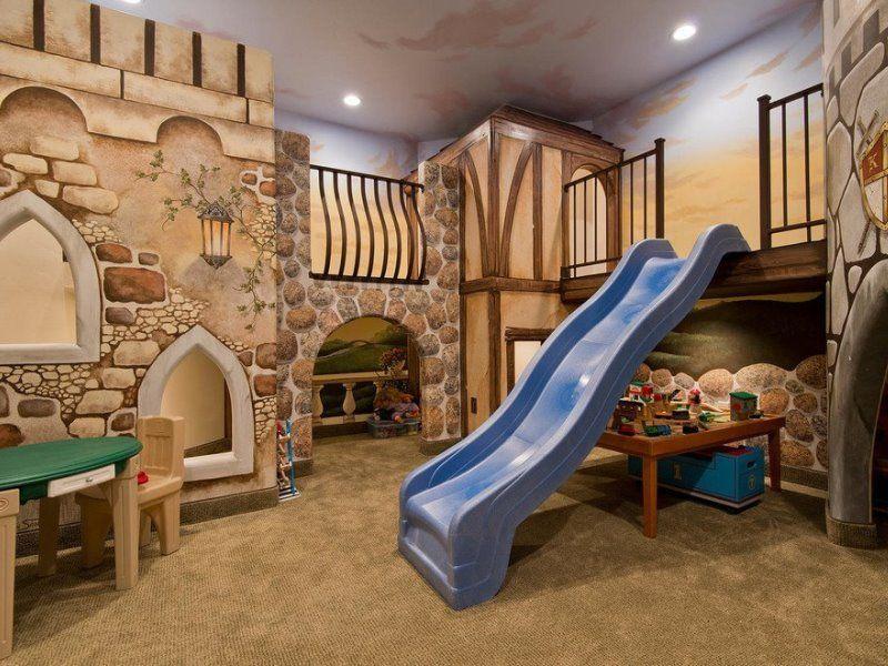 Сказочная детская комната: волшебные краски