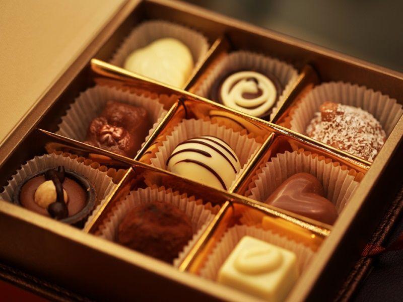 Как выбирать конфеты в коробке