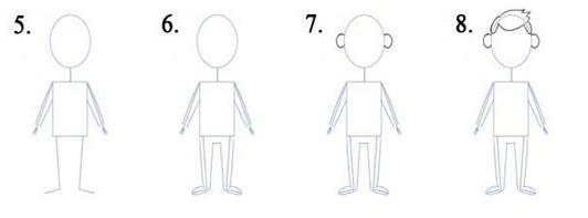 Как научить рисовать человека