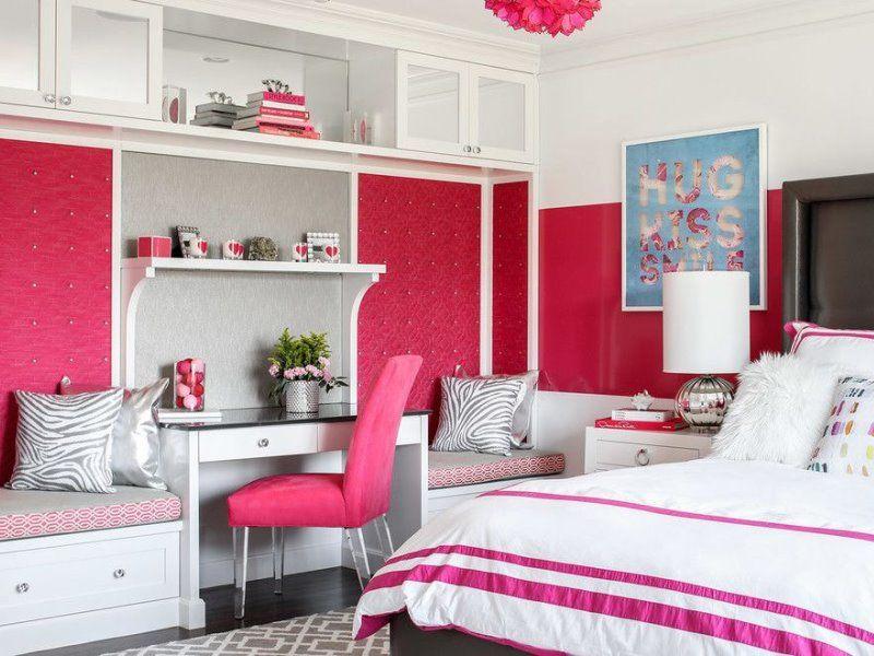 Обустройство комнаты для девочки-подростка: мебель и декор
