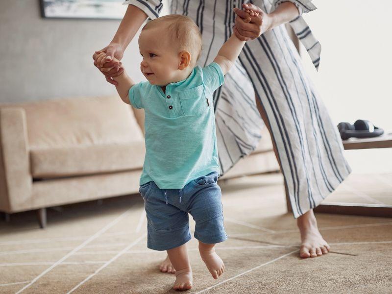 Особенности физического развития детей первого года жизни
