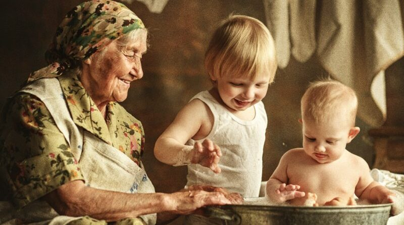 Роль бабушек в развитии ребенка