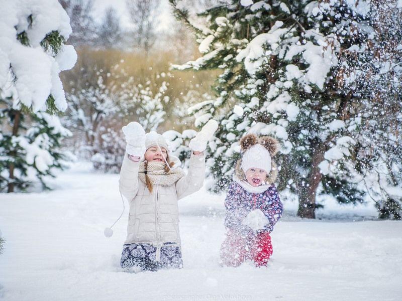 Зимние игры для детей на свежем воздухе: играем на улице зимой