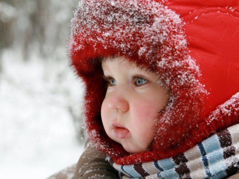 на холоде