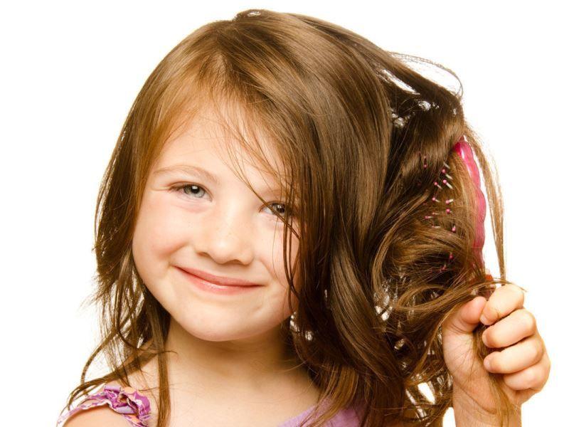 Как укрепить волосы у ребёнка