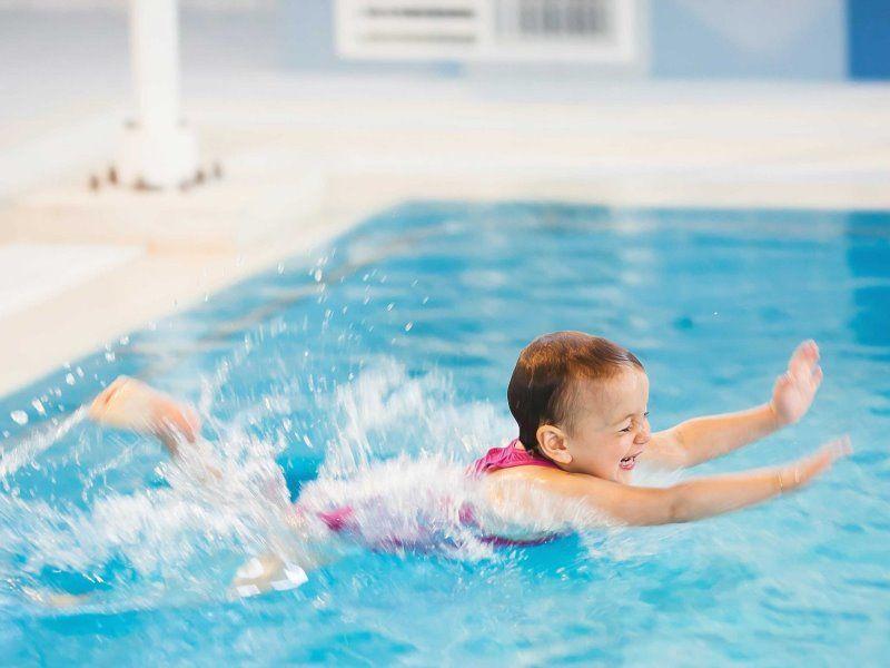 Польза плавания для детского здоровья