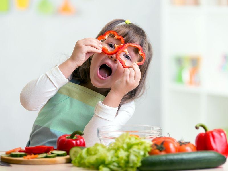 Питание детей в возрасте 3-7 лет