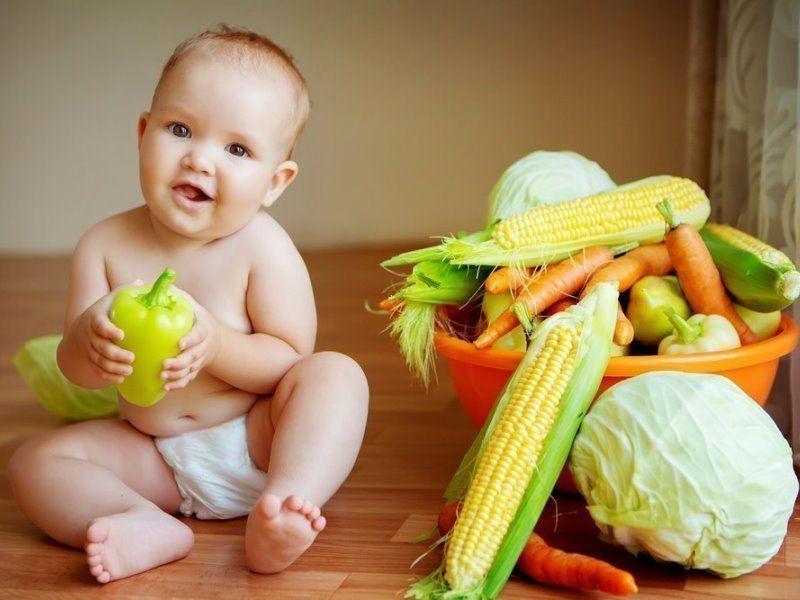 Первый овощной прикорм