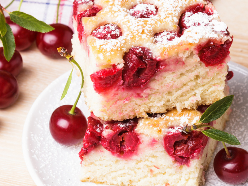 Вишнёвый пирог