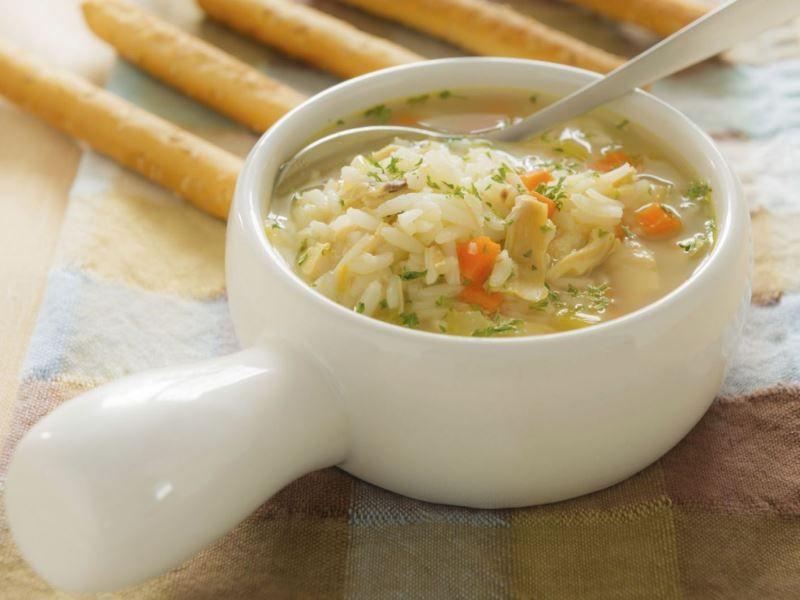 Рецепт вкусного домашнего рисового супа