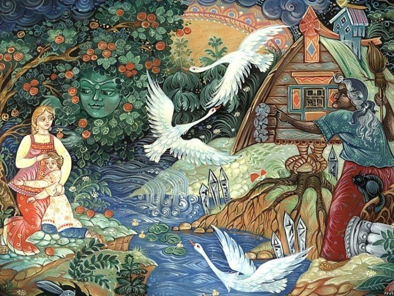 Русские народные сказки: тайный смысл