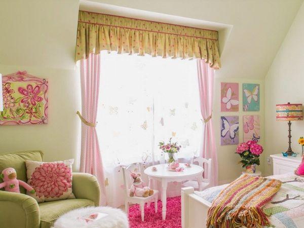 Комната для девочек: фото интерьера