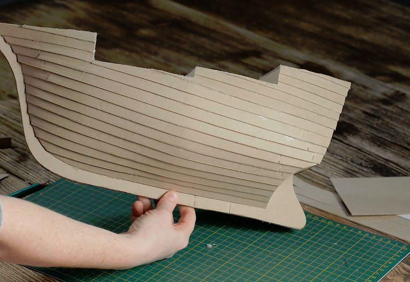 модель пиратского судна своими руками